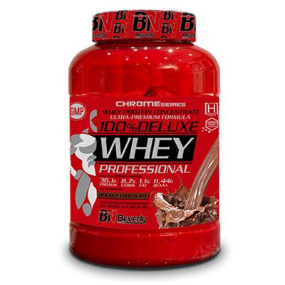 100% Deluxe Whey - Double Chocolate  - Beverly - 2 kg.
