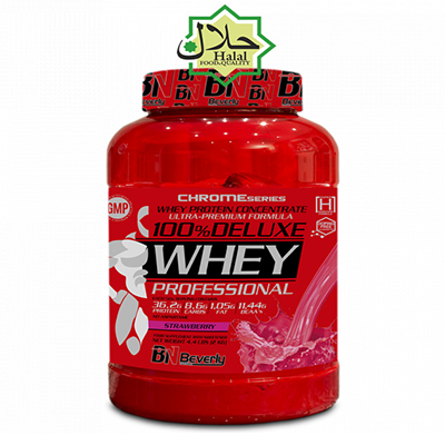 100% Deluxe Whey - Strawberry - Beverly - 2 kg.