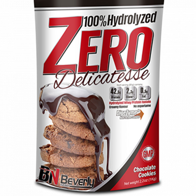 100% Hydrolyzed Zero Delicatesse - Chocolate Cookies - Beverly - 1 kg.