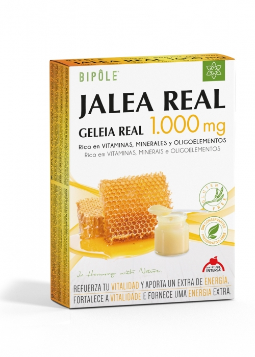 BIPOLE JALEA REAL 1000 MG 20 AMP