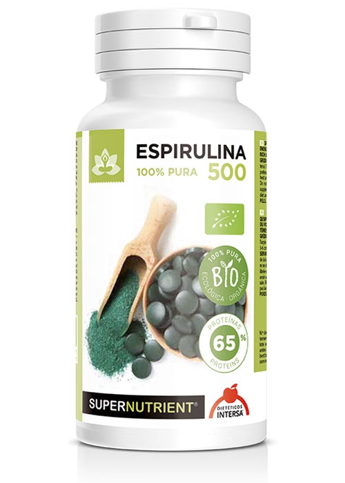 ESPIRULINA 500 MG 180 COMP