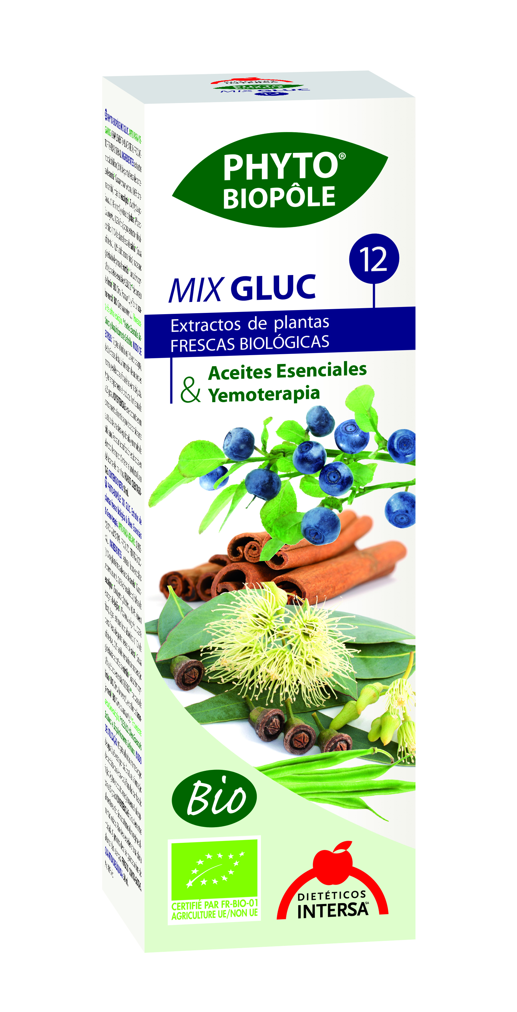 PHYTOBIOPOLE MIX GLUC 12 50 ML