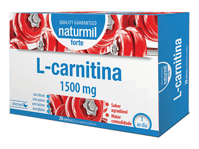 L-CARNITINA STRONG  20 Ampollas