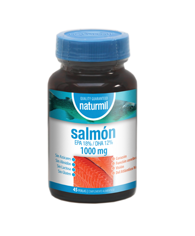 SALMON 1000 mg 45 Perlas