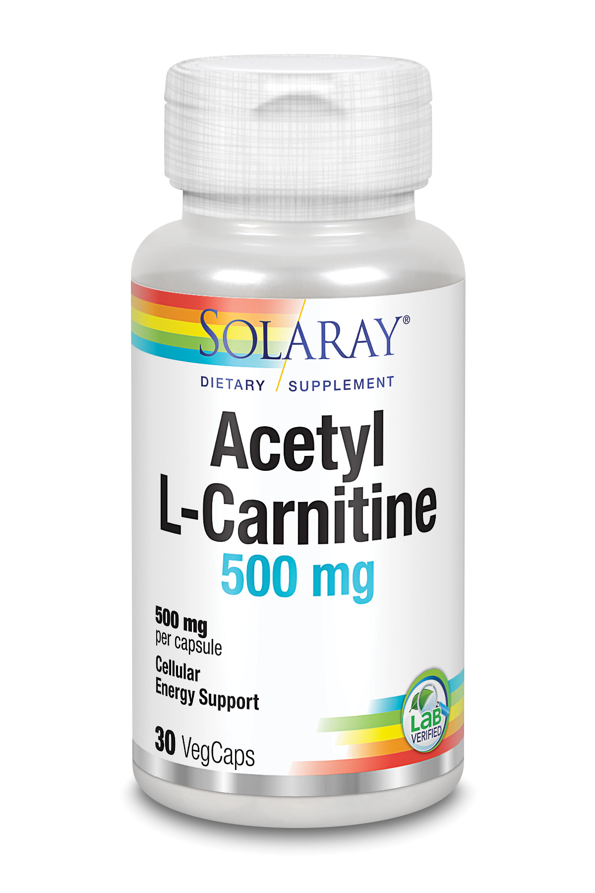 Acetyl L-Carnitina 500 Mg 30 Vcaps
