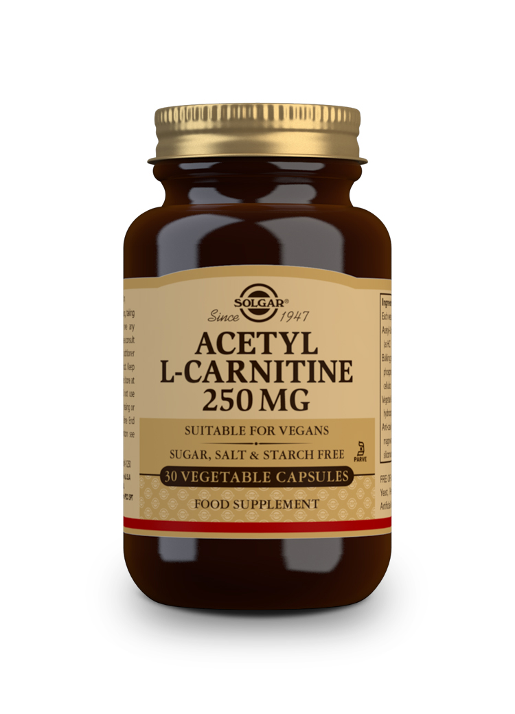 ACETIL/L-CARNITINA 250mg 30 Vcaps