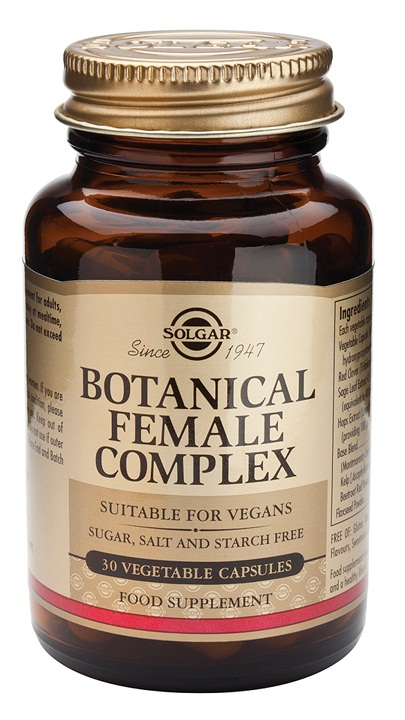 BOTANICAL FEMALE COMPLEX 30 Vcaps