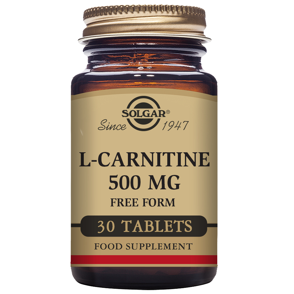 L-CARNITINA 500 mg 30 Comp