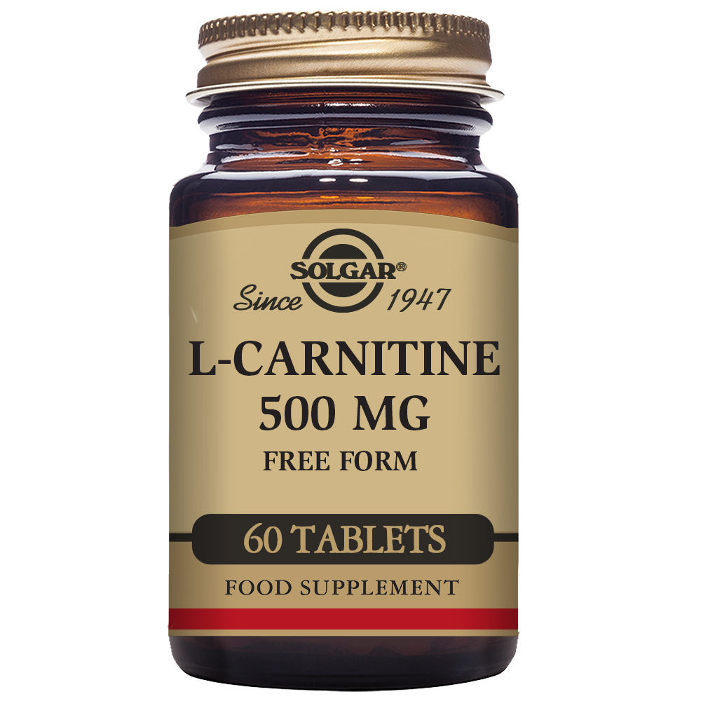 L-CARNITINA 500 mg 60 Comp