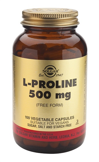 L-PROLINA 500mg 100 Vcaps