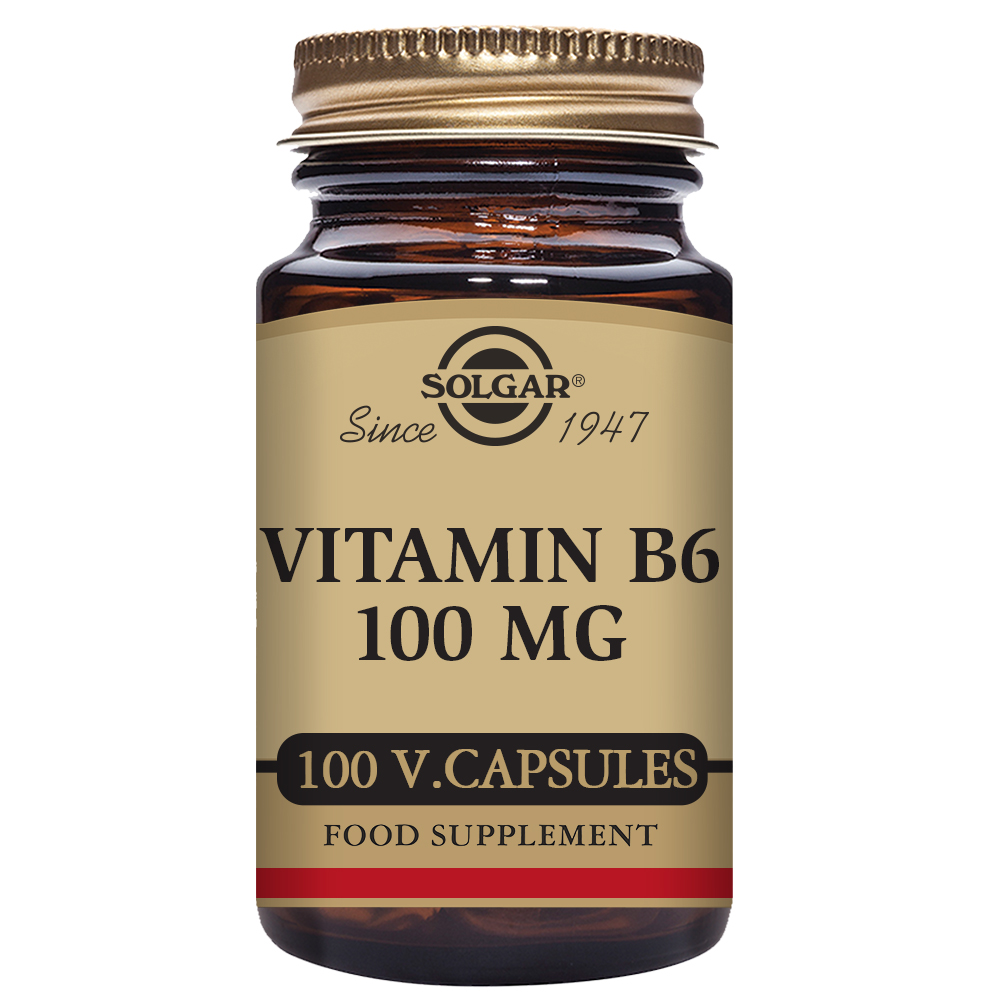 VITAMINA B6 100 mg 100 Caps