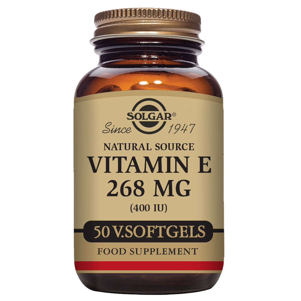 VITAMINA E 400 UI 268 mg 50 Vcaps
