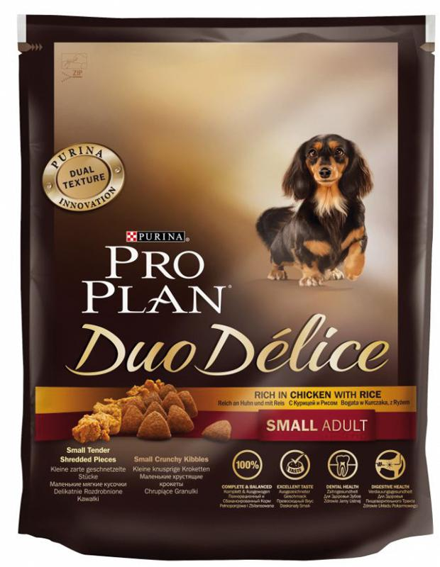 Pro Plan Canine Adult Duodelice Small Pollo 700gr