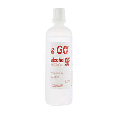 Alcohol 96º & Go - Pharma & Go - 250 ml.