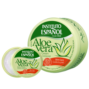 Aloe Vera Crema - Instituto Español - 400 ml.