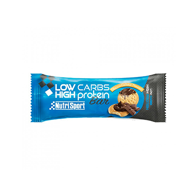 Barrita Proteica Low Carbs Galleta-Choco - NutriSport - 16 barritas