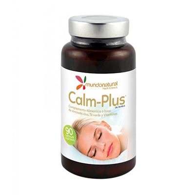 Calm Plus - Mundo Natural - 90 cápsulas