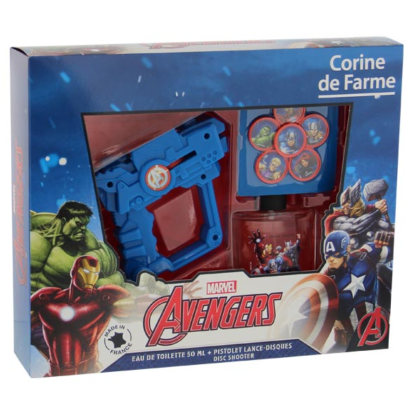 Corine De Farme Avengers Edt 50 ml. + Gel 250 ml.