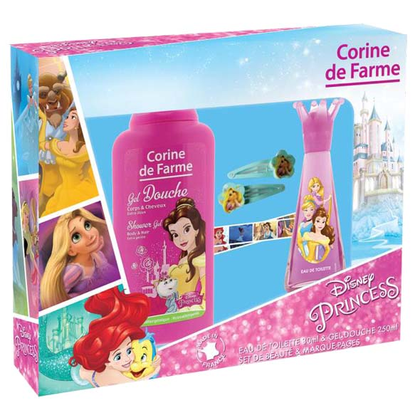 Corine De Farme Princesas Edt 30 ml. + Gel 250 ml.