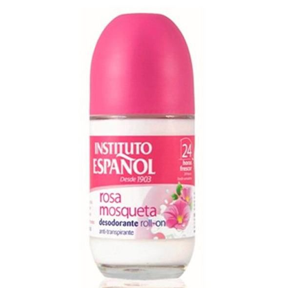 Deo Roll On Rosa Mosqueta - Instituto Español - 75 ml.