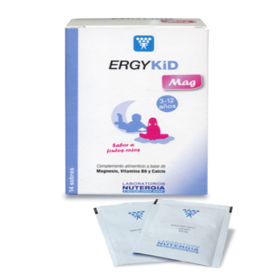 Ergykid Mag - Nutergia - 14 Sobres