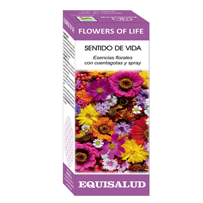 FLOWERS OF LIFE SENTIDO DE LA VIDA - Equisalud - 15 ml.