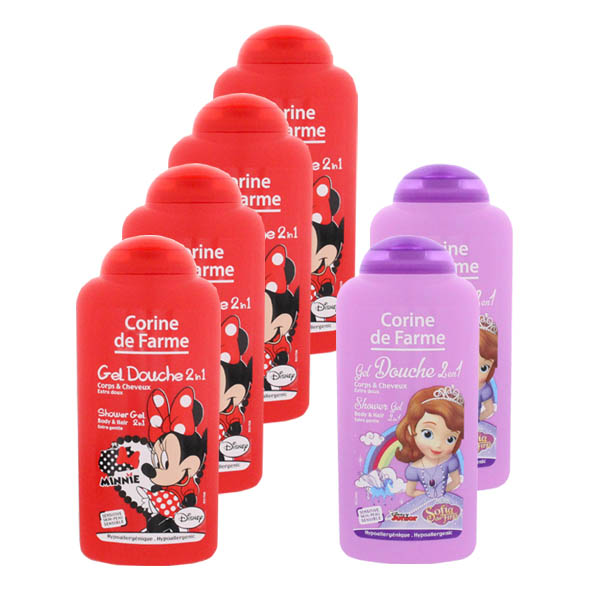 Gel Ducha 2 En 1 Minnie/Sofia  - Corine de Farme - 150 ml.