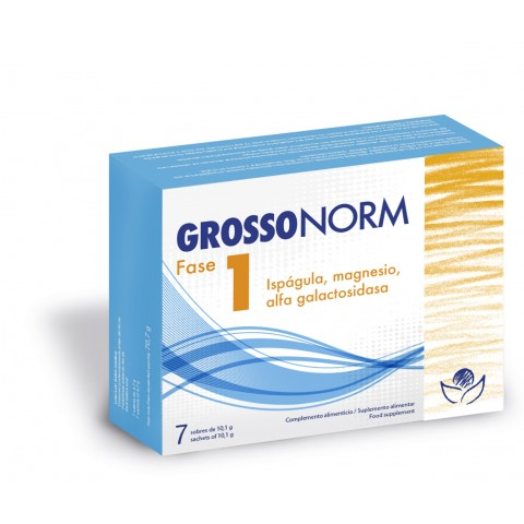 Grossonorm Phase 1 - Bioserum - 7 monodosis