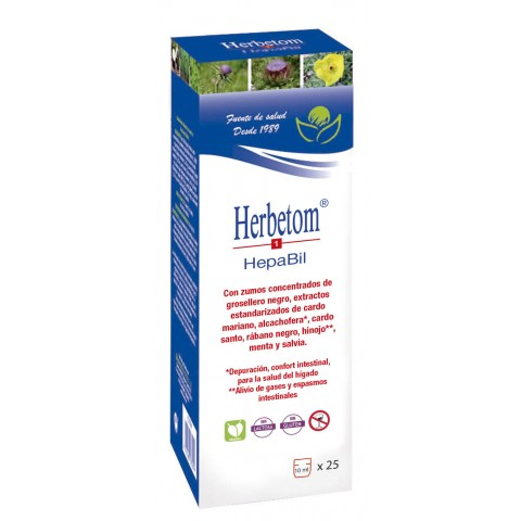 Herbetom 1 Hepabil - Bioserum - 250 ml.
