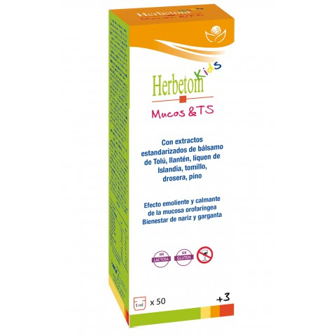 Herbetom Kids Mucos & Ts - Bioserum - 250 ml.