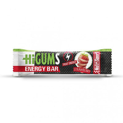 Higums Bar Strawberry Strawberry - NutriSport - 28 barritas
