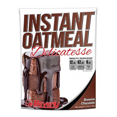 Instant Oatmeal - Brownie Chocolate - Beverly - 1,5 Kg.