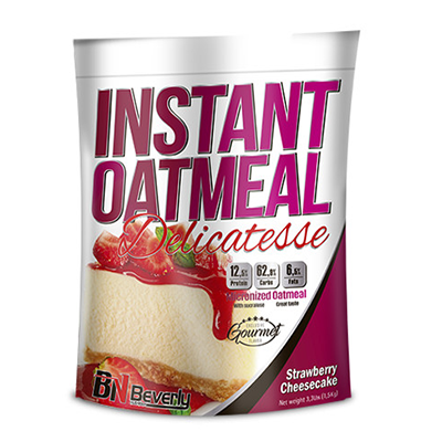 Instant Oatmeal - Strawberry Cheesecake - Beverly - 1,5 Kg.