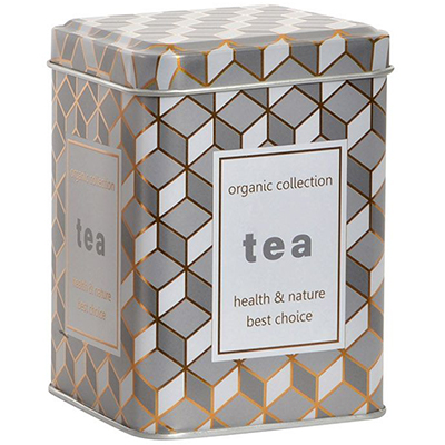 Lata Organic Collection Blanca - Tea Shop Geoherbal - 7,5 x 7,5 x 10