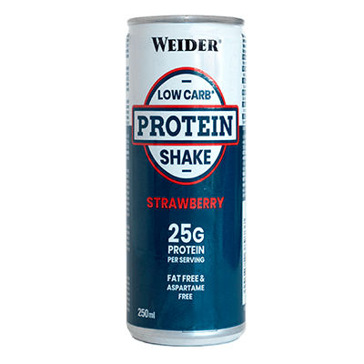 Low Carb Protein Shake Fresa - Weider - 24 x 250 ml.