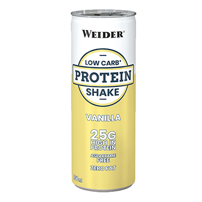 Low Carb Protein Shake Vainilla - Weider - 24 x 250 ml.