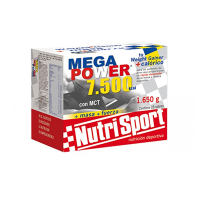 Megapower 20000 Chocolate - NutriSport - 40 sobres