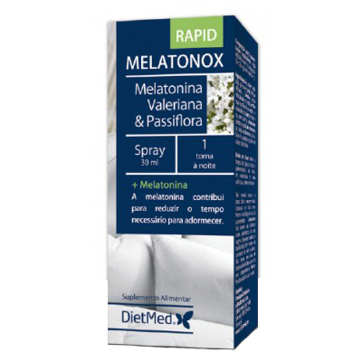 Melatonox Spray Rapid - Dietmed - 30 mililitros
