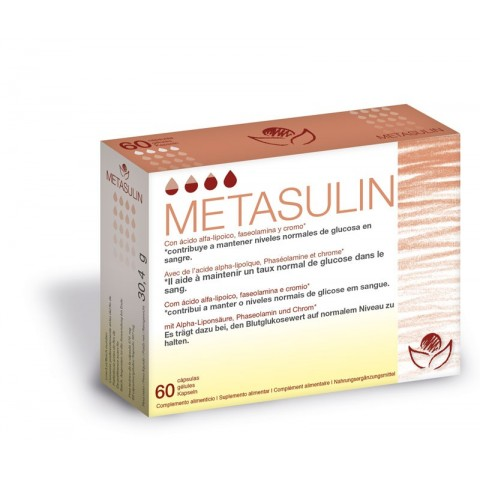 Metasulin - Bioserum - 60 cápsulas