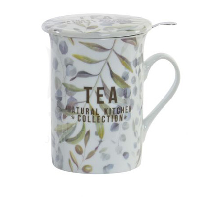 Mug Infusiones Natural Kitchen - Tea Shop Geoherbal - 280 ml.