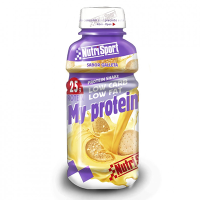 My Protein Galleta - NutriSport - 12 botellas de 330 ml.