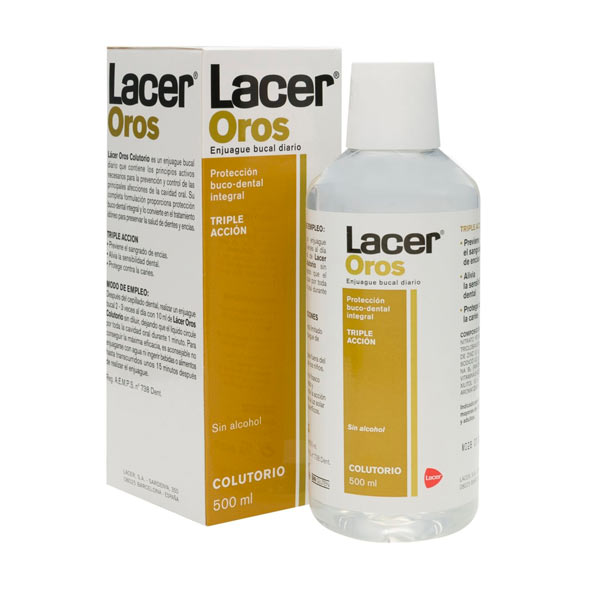 Oros Colutorio - Lacer - 500 ml.
