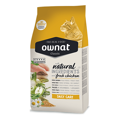 Ownat Gatos Classic Daily Care - Ownat - 15 kg.