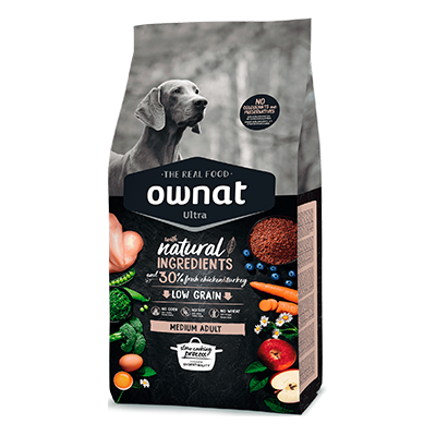 Ownat Perro Ultra Medium Adult - Ownat - 8 kg.