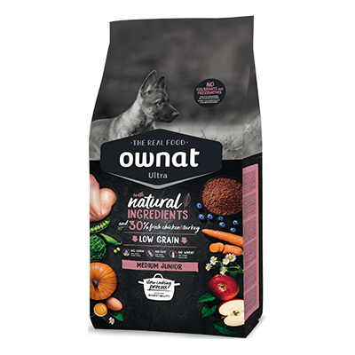 Ownat Perro Ultra Medium Junior - Ownat - 14 kg.