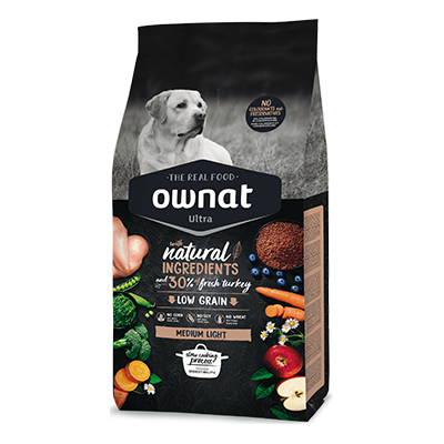 Ownat Perro Ultra Medium Light - Ownat - 3 kg.