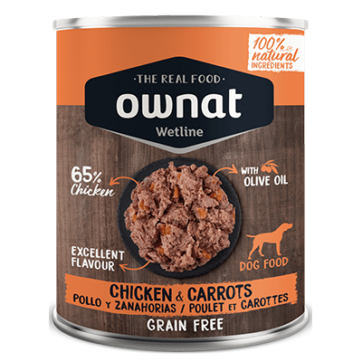 Ownat Perro Wetline Chiken With Carrots - Ownat - 6 X 400 grs.