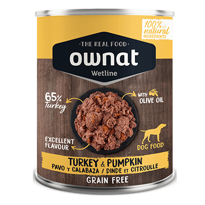Ownat Perro Wetline Turkey With Pumpkin - Ownat - 6 X 400 grs.