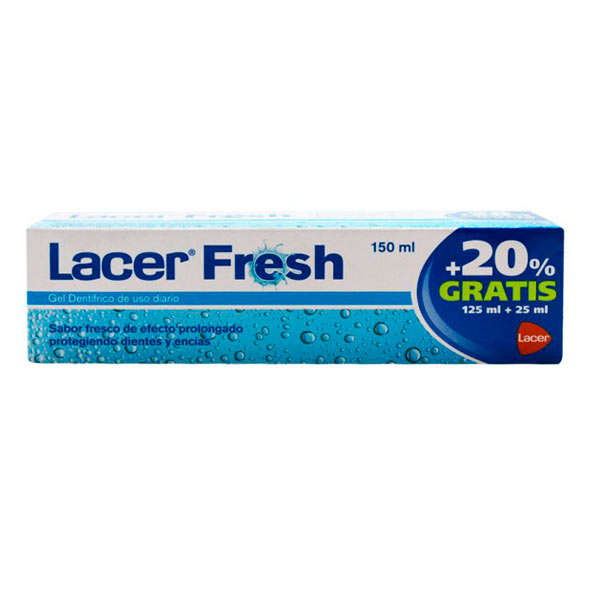 Pasta Dental Fresh - Lacer - 125 ml.