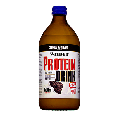 Protein Drink Cookies - Weider - 12 x 500 ml.